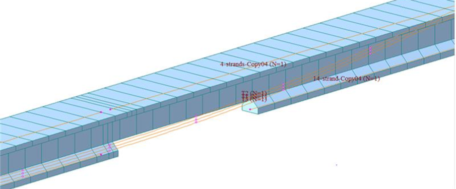 FEA OF DAMAGED BRIDGE